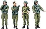PLAMAX 35-02 イスラエル国防軍タンククルーセット1 1/35スケール ABS&PS製 組み立て式プラスチックモデル
