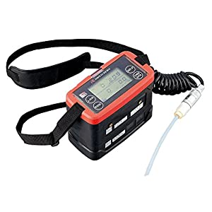 理研計器 ポータブルガスモニター GX-8000 TYPE-C 3成分測定可 校正証明付 /1-3316-14