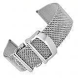 ドットタウン 腕時計メッシュステンレスベルト IWCタイプ 汎用品 20mm MSB111 並行輸入品 [並行輸入品]
