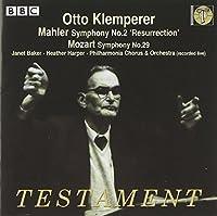 Symphony 2: Resurrection / Symphony 29 by G. Mahler