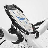 【Ringke】Spider Grip Mount 自転車 ホルダー バイクスマホホルダー GPSナビ スマホ固定用 オートバイのバイクATVハンドルバーマウントホルダー マウントデリバリー 工具不要 取り付け簡単 多機種対応 (Black ブラック)