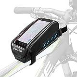 GORIX ゴリックス 自転車用トップチューブバッグ スマホ収納可能タッチパネルOK フレームバッグ 撥水仕様 GX-P27