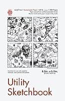 Pentalic Utility Sketch 144-Sheet Book 8.5 by 5.5-Inch [並行輸入品]