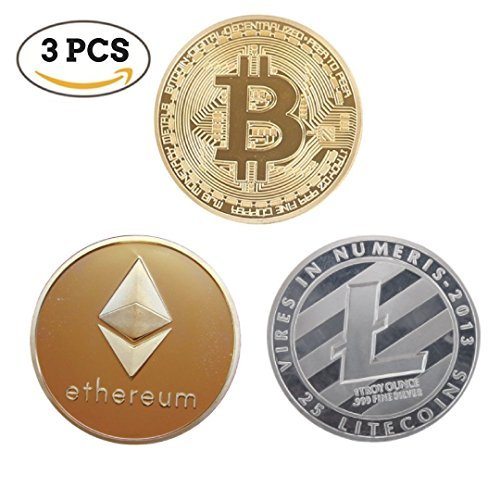 icryptotrends : Bitcoinイーサリアム& Litecoin Limitedエディションコレクターセット|物理コイン| Cryptocurrency Coin withリアルな会話スターター詳細| Great Gift Idea For Hodlファン|