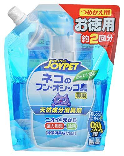 天然成分消臭剤 ネコのフン・オシッコ臭専用 お徳用 450ml