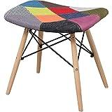椅子 イームズチェア スツール デザイナーズ リプロダクト パッチワーク PP-638-Patchwork