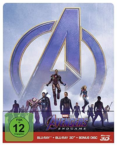 Avengers - Endgame: Blu-ray 3D + 2D   Steelbook