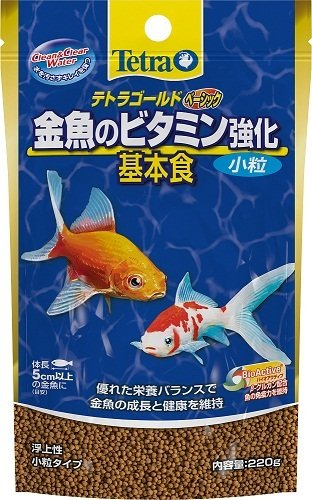 テトラ ゴールド金魚のえさ ベーシック 220g