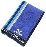 スポーツタオル ミズノ D6062 スポーツタオル ブルー 34×110cm SD609206