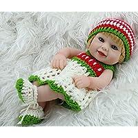 Nicery 生まれ変わった赤ちゃん人形おもちゃハードシミュレーションシリコンビニール11インチ28cm防水おもちゃとギフト Reborn Baby Doll RD28B008G