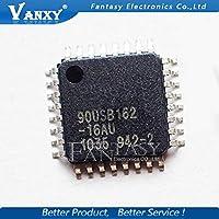 2個/ロットNEW AT90USB162 90USB162 MCU AVR USB 16Kフラッシュ32-TQFP AT90USB162-16AU