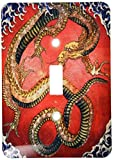 3drose LSP _ 163307_ 1日本語のイメージでドラゴンのペイント明るい色Single切り替えスイッチ