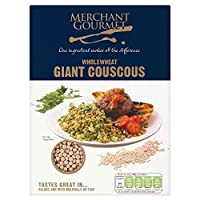 Merchant Gourmet Wholewheat Giant Couscous (300g) 商人グルメwholewheat巨人クスクス( 300グラム)