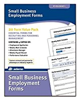 Adams Small Business Employment Forms 4 Each of 5 Different Forms Includes Instructions (HV100) [並行輸入品]