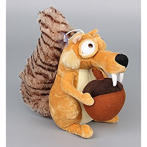 Ice Age Plush 7.2 Inch / 18cm Scrat Doll Stuffed Animals Figure Soft Anime Collection Toy