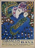 ポスター バヤ タラスコン 1994 額装品 ウッドベーシックフレーム(オフホワイト)