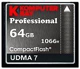 Best Komputerbay CFカード - Komputerbay 64GB Professional Compact Flash card 1066X CF Review