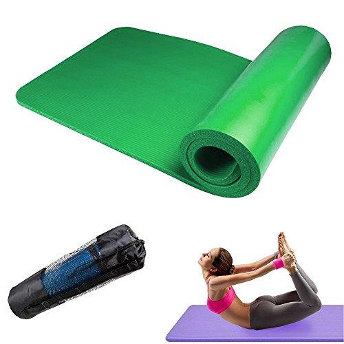 [해외]I.T outlet 극 두께 쿠션이 뛰어난 요가 매트 훈련 매트 요가 트레이닝 바닥을 손상하지 미끄럼 방지 홈 전용 케이스 2cm 극 두께 20mm/I.T outlet Extremely cushioned with excellent thickness Yoga mat Training mat Yoga Training No slip groo...