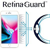 RetinaGuard iPhone8 ブルーライト90%カット 保護フィルム (クリア)