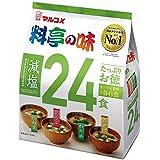 マルコメ たっぷりお徳料亭の味 減塩 24食(4種×6食入り)×6個