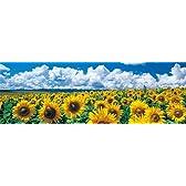 四季の詩 954ピース 空と雲と向日葵と【Symple Style】 (34cm×102cm、対応パネルNo.9-T)