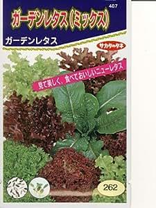 ガーデンレタス(ミックス) サカタのレタス種です