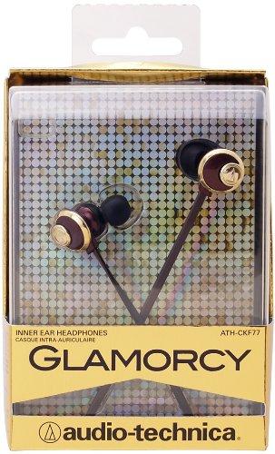 audio-technica GLAMORCY カナル型イヤホン ブラウン ATH-CKF77 BW