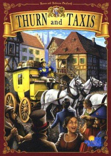 郵便馬車 (Thurn und Taxis) (英語版) ボードゲーム