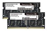 Team ノートPC用 SO-DIMM DDR4 2666MHz PC4-21300 16GBx2枚組 32GBkit 無期限保証