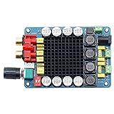 LeaningTech TDA7498 2X100W 高品質 HI-FI DCステレオ デジタルアンプ ツーウェイスピーカーシステム D Class 2CHオーディオアンプ