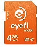 ワイヤレスSDHCカード Eyefi Mobi (アイファイ モビ) 4GB Class10 WiFi内蔵 (最新パッケージ版)