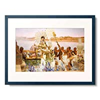 Alma-Tadema, Sir Lawrence 「The Finding Of Moses.」 額装アート作品
