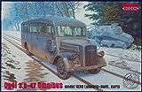 ローデン 1/35 ドイツ オペル3.6-47軍用スタッフバスW39初期型 035T807 (¥ 4,593)