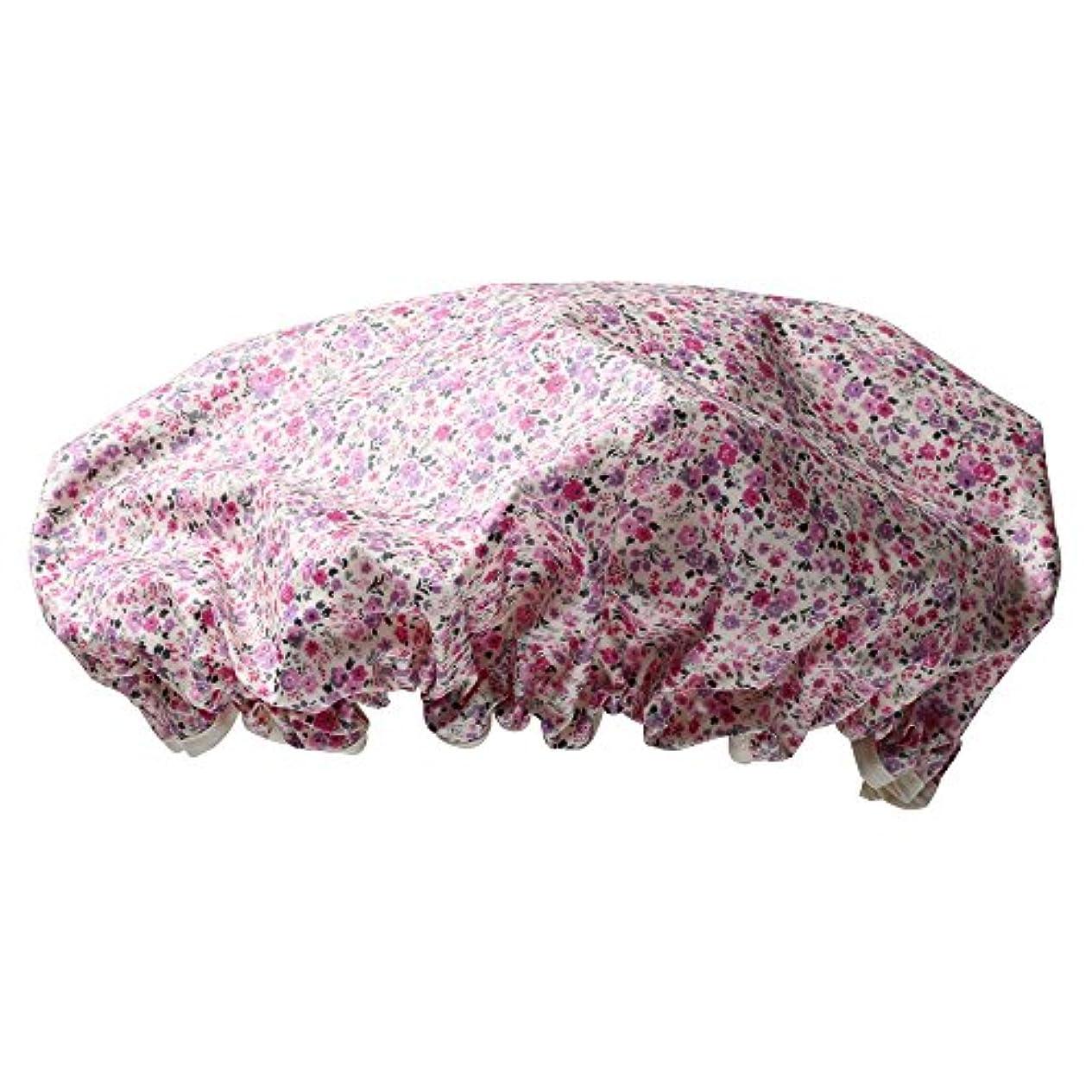 ピン駐地鹿シャワーキャップ #6163-3 ピンク