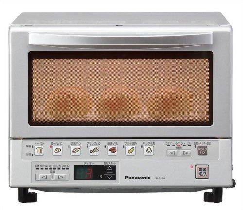 パナソニック オーブン&トースター シルバー NB-G130-S