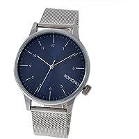 腕時計 Komono KOM-W2353 Winston Royale Silver Blue Watch [並行輸入品]