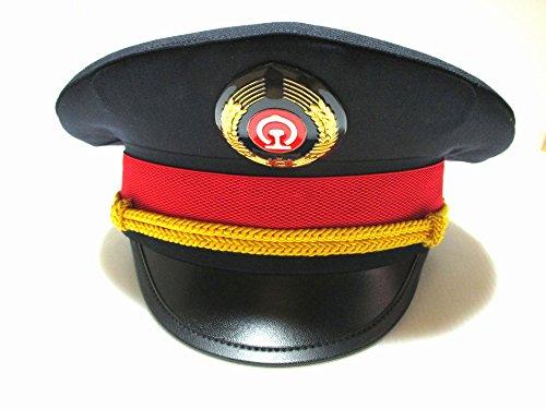 鉄道員の帽子 コスチューム用小物 紺 54cm-61cm