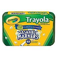 Crayola 48ct. Trayola Washable Markers Fine おもちゃ [並行輸入品]
