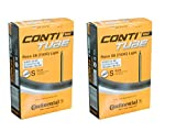 2本セット コンチネンタル(Continental) 軽量チューブ RACE 28 LIGHT 700×20-25C 仏式(42mm,60mm,80mm各種) (80mm) [並行輸入品]