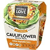 Kitchen & Love Indian Vegetable Curry Cauliflower Quick Meal, 225g
