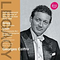 Legacy: Georges Cziffra by GRIEG / LISZT (2012-09-25)