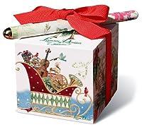 Lissom Design Paper Block Set Holiday Jingles [並行輸入品]