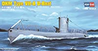 Hobby Boss DKM Type VIIA U-Boat Boat Model Building Kit [並行輸入品]