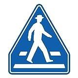 【395-481】通路用標識 横断歩道