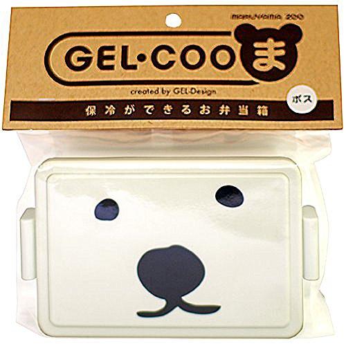 三好製作所 保冷剤一体型 ランチボックス GEL・COOま(じぇるくーま) ボス L GC-310