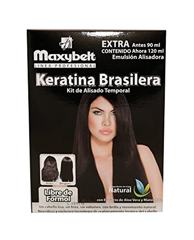 maxybelt Kit Keratinブラジル - 120 ml