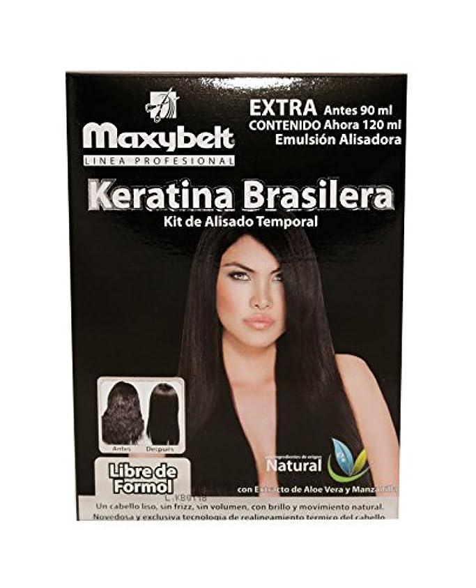 傷つきやすい憎しみ間maxybelt Kit Keratinブラジル - 120 ml