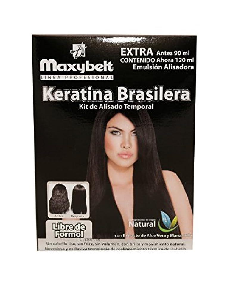謙虚な頭痛太平洋諸島maxybelt Kit Keratinブラジル - 120 ml