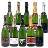 本格シャンパン製法の極上の泡10本セット((W0Z515SE))(750mlx10本ワインセット)
