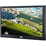 Kenowa13.3 inches 1920 * 1080 IPS Portable Monitor Display Thin Type Display Mobile Monitor Pixel for Raspberry pi Display Windows 7 8 10 Built-in Speaker Black